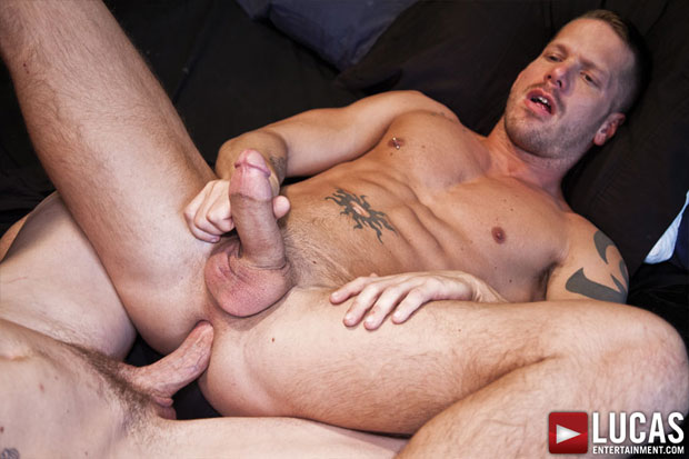Watch Jed Athens and Shane Frost have bareback sex at Lucas Entertainment