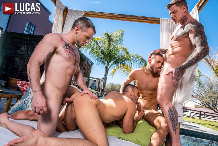 Jeffrey Lloyd, Colton Grey, Geordie Jackson and Jackson Radiz - Lucas Entertainment