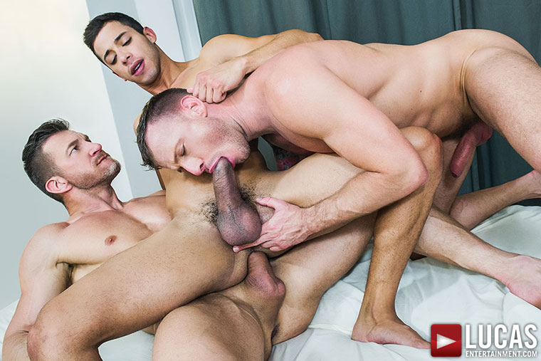 Logan Rogue, Tomas Brand and Drae Axtell - LucasEntertainment.com
