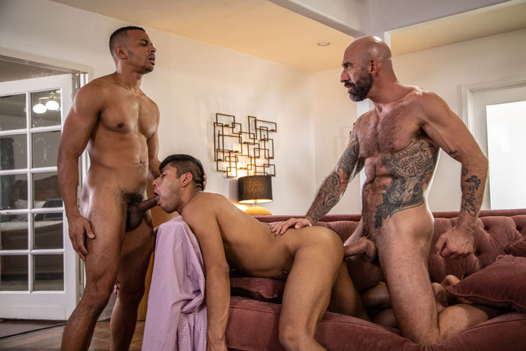 Drew Sebastian, Zario Travezz and Calix Rivera - Men