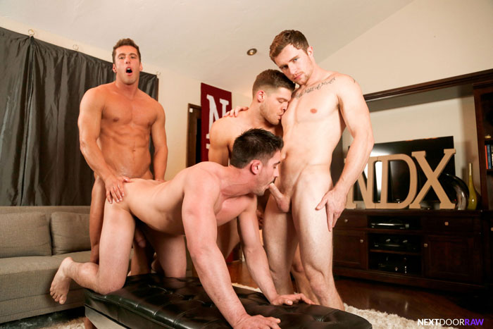 Markie More, Derrick Dime, Bridger Watts and Rod Peterson - Next Door Raw
