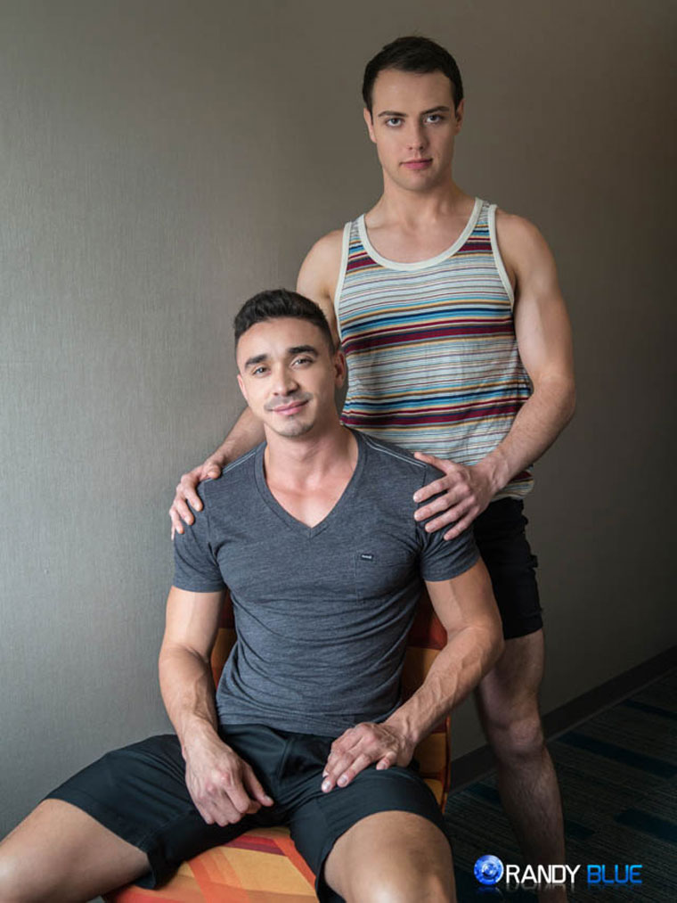 Watch Brendan Phillips and Randy Dixon barebacking at Randy Blue