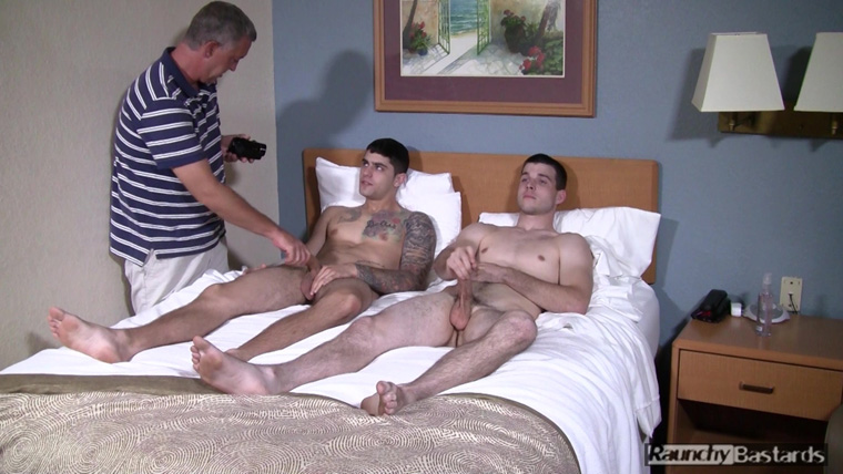 Danny Luca, Nolan Ash and Clay - Raunchy Bastards