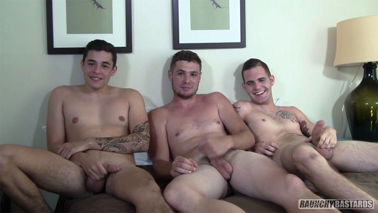 Bo Connor, Dominic Phelps, James Andrews and Clay - Raunchy Bastards