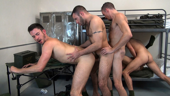 Justin Case, Jimmie Slater, Owen Powers, Scott DeMarco and Braxton Smith - Raw Fuck Club