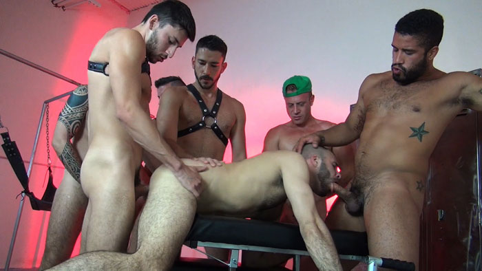 Justin Case, Saxon West, Owen Powers, Cam Christou, Braxton Smith, Trey Turner and Scott DeMarco - Raw Fuck Club