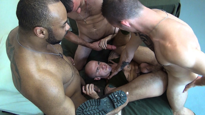 Brett Bradley, Jimmie Slater, Cam Christou and Ray Diesel - Raw Fuck Club