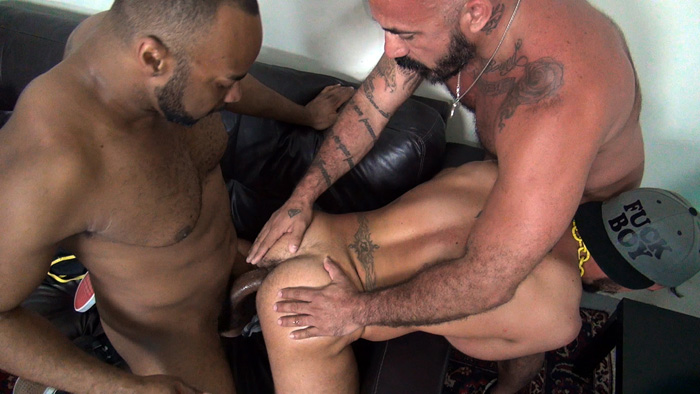 Alessio Romero, Aarin Asker and Ray Diesel - Raw Fuck Club