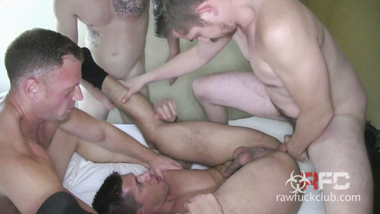 Dylan Saunders, Jed Athens, Saxon West and Dayton O'Connor - Raw Fuck Club
