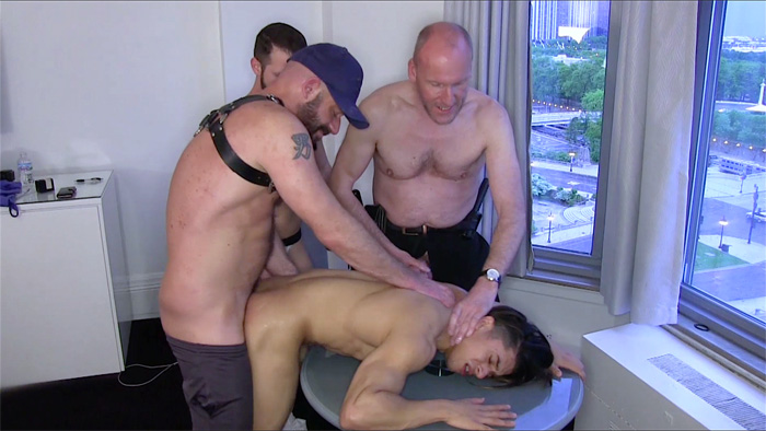 Paul Stag, Armond Rizzo, Asher Devin and Adam Black - Raw Fuck Club