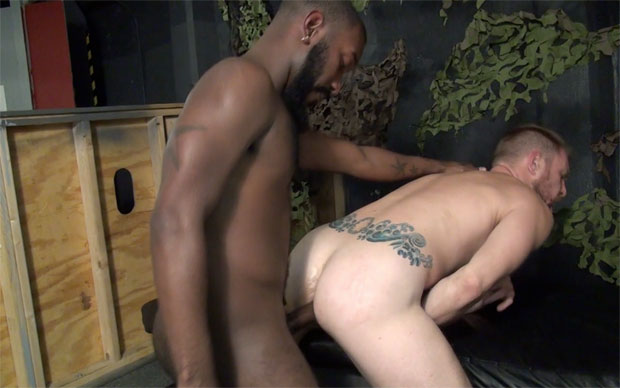 Watch Nino Skyy and Jaxon have bareback sex at Raw Fuck Club