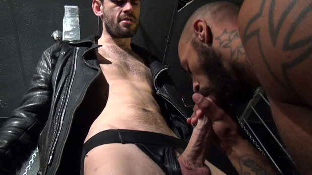 Watch Peto Coast and Kory Mitchell have bareback sex at Raw Fuck Club