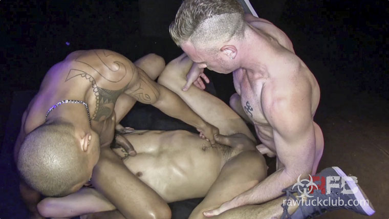 Saxon West, Romero Santos and Xavier Arroyo - RawFuckClub.com