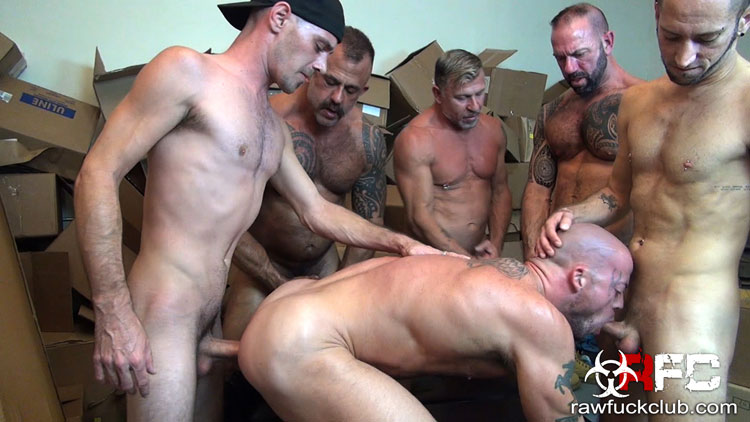 Brett Bradley, Jon Galt, Vic Rocco, Sean Duran, Dek Reckless and Peter Fulton - Raw Fuck Club