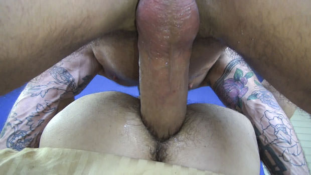 Watch Sean Storm and Rocco Steele have bareback sex at Raw Fuck Club