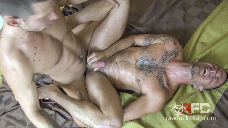 Watch Shane Frost and Max Cameron having bareback sex at Raw Fuck Club