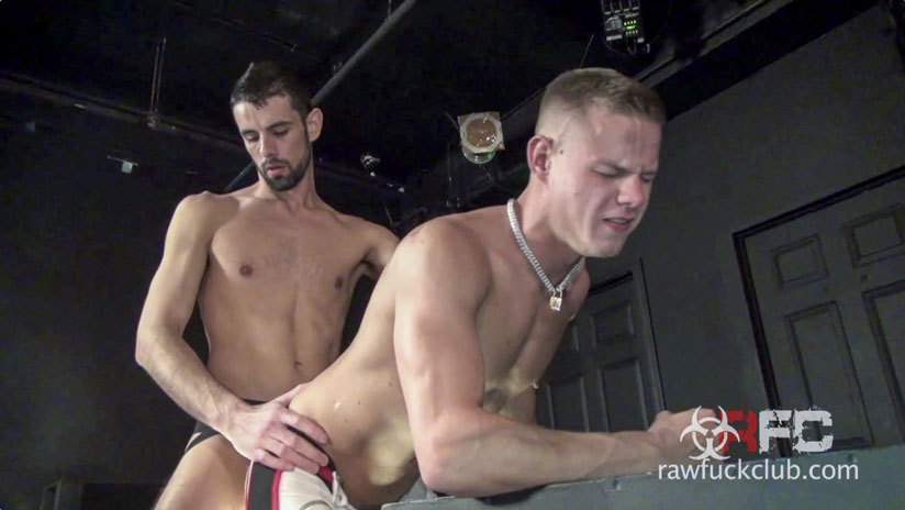 Tommy Deluca, Jon Shield, Adam Russo, Joseph Rough, Luke Harding and Jake Steel - Raw Fuck Club