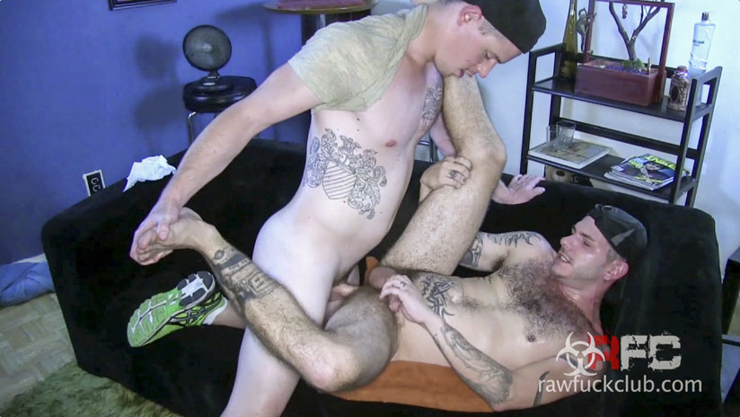 Tristan Mathews and Jed Athens - Raw Fuck Club