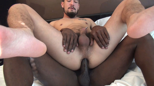 Watch Troy Moreno and Cory Koons have bareback sex at Raw Fuck Club