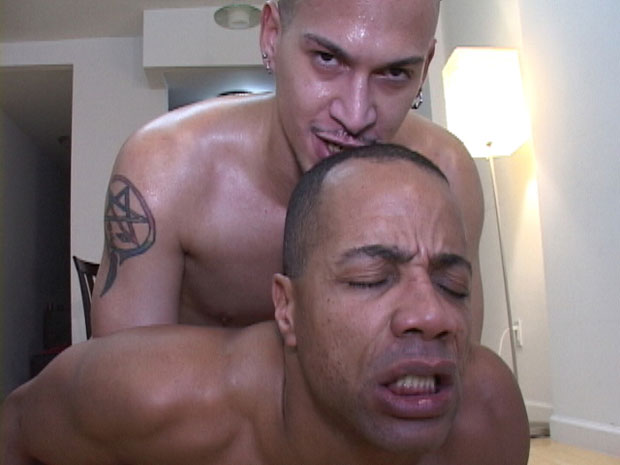 Watch Dimitri Santiago and Marc Dupree have bareback sex at Raw Nasty Fuckers