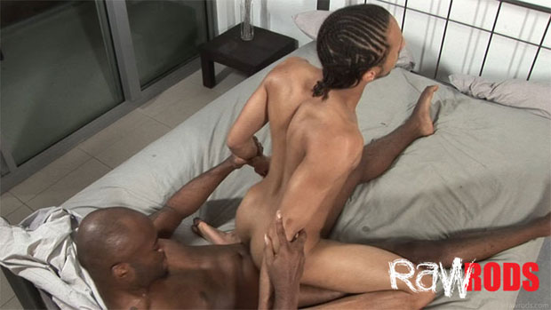 Watch Kristian Dawawan and Unique One have bareback sex at Raw Rods