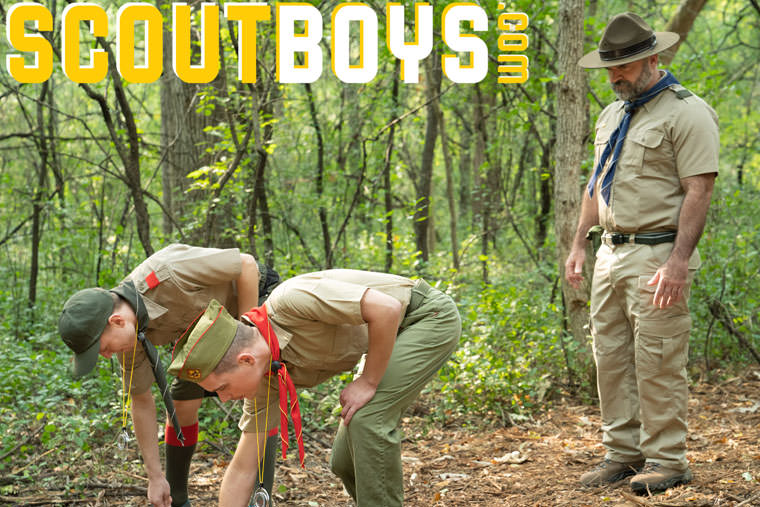 Bishop Angus, Ian Levine and Mark Winters - Scout Boys