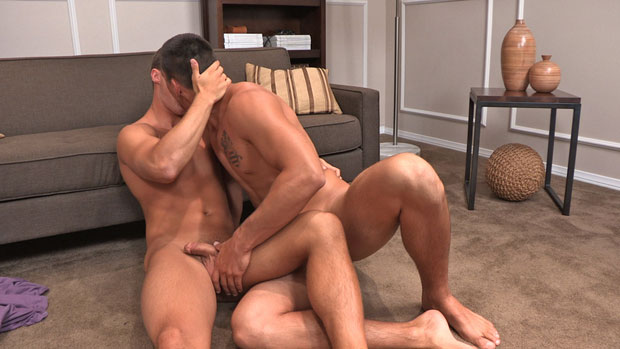 Watch Coleman and Alexander have bareback sex at Sean Cody