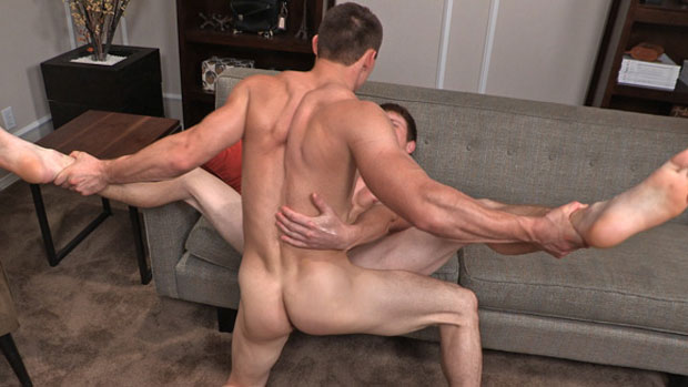Watch Curtis and Liev have bareback sex at Sean Cody