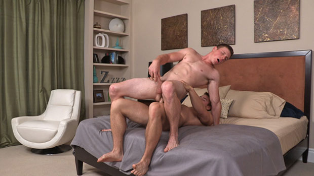 Watch Marshall and Curtis have bareback sex at Sean Cody
