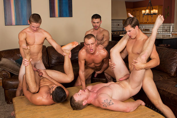 David, Tanner, Bryce, Andy, Coleman and Noel - SeanCody.com