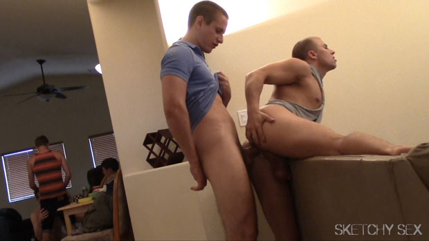 Eli, Andrew, Jacques, Drake, Jake and Cadence - SketchySex.com