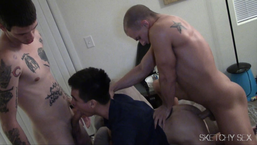 Nicko, Zack, Eli Hunter, Aaron and Josh - Sketchy Sex