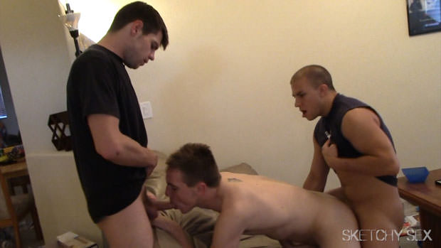 Eli, Jacques, Jake and Cadence - SketchySex.com