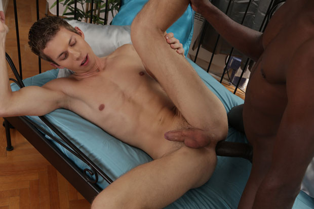 Watch Devon LeBron and Jason Mike have bareback sex at Staxus
