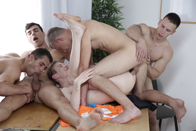 Dick Casey, Florian Mraz, Joel Vargas, Milan Sharp and Sam Williams - Staxus