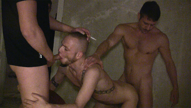 Watch Ben Armstrong, Peto Coast, Florian Manns and Mica Beck have bareback sex at TIMFuck