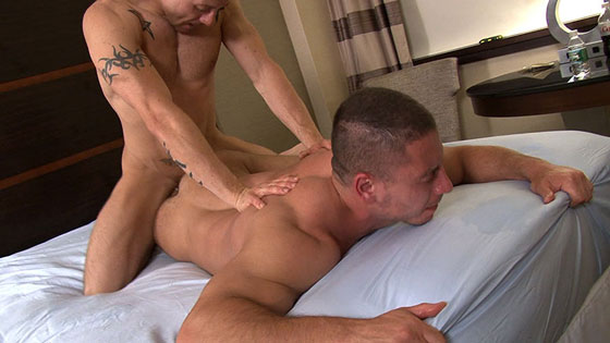 Watch Chris Gabriel and Tyler Marks have bareback sex at TIMFuck