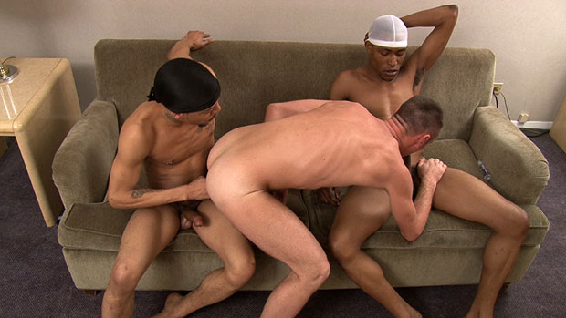 Watch Christian, Kobra and Kannon have bareback sex at TIMFuck