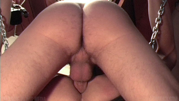 Watch Justin Case and Kyle Miller have bareback sex at TIMFuck