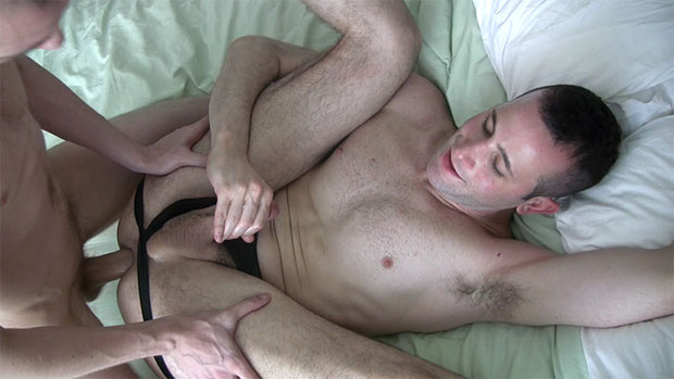 Watch Lucky Joe and Daniel Pearce have bareback sex at TIMFuck