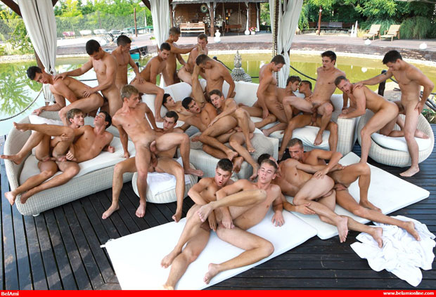 The Biggest Bareback Sex Orgy Scene Ever Filmed by Bel Ami is Coming!