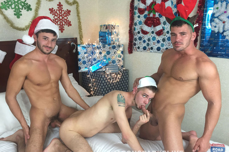 Jason Sparks Live Would Like to Wish You a Very Bareback Christmas