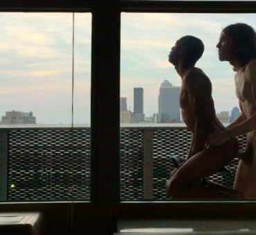 Barebacking on the Balcony Overlooking the City Provides an Amazing View
