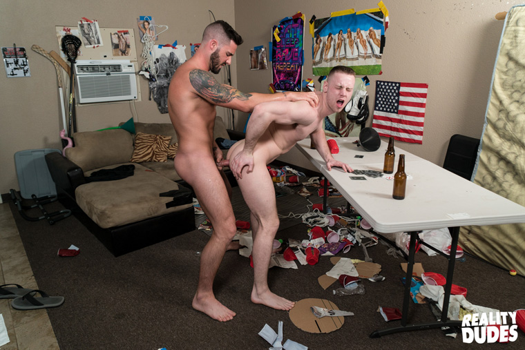 Brandon Evans and Blaze Burton - Dick Dorm