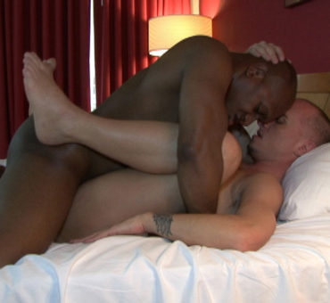 How Deep Can You Go with a Big Black Cock Barebacking a Tight White Ass