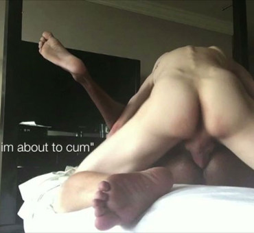A Big Dicked White Thug Slides His Raw Cock Inside to Bareback a Black Ass