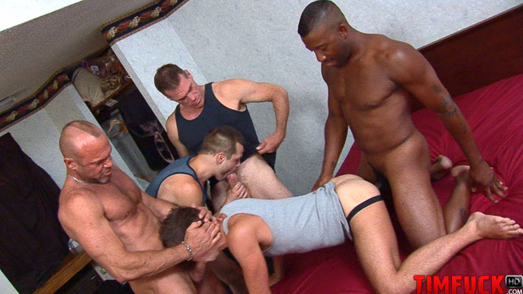 Jackson Taylor Takes Three Loads in His Ass Thanks to Treasure Island Media