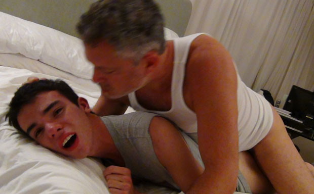 Twink Munches on a Hairy Butt Before getting Fucked Raw at Maverick Men