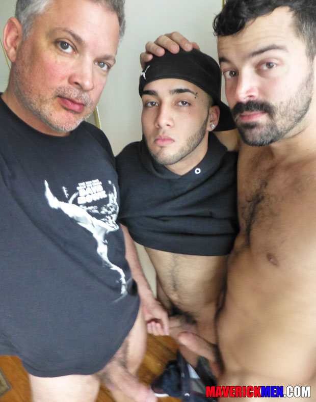 Hairy Dude Affectionately Known as Wolf Pup gets Fucked Raw at Maverick Men