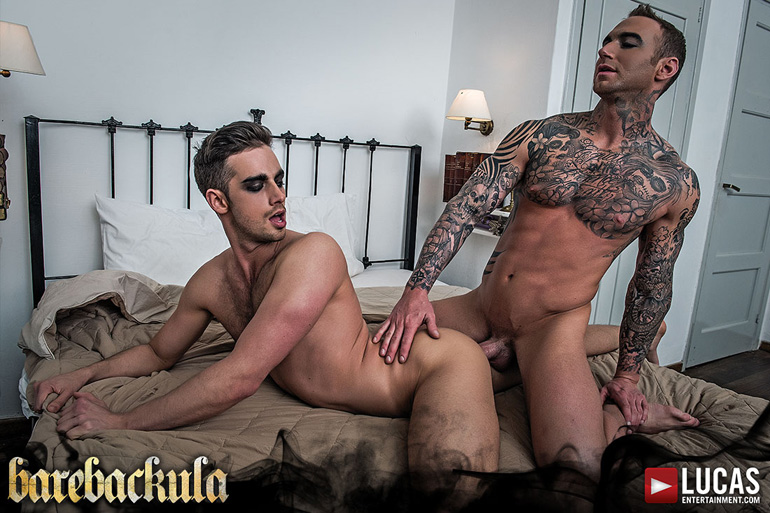 See What Happens in Lucas Entertainment's Castle Bare Halloween Barebackula Spectacular